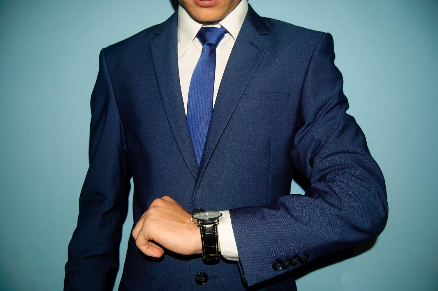 スーツ 写真